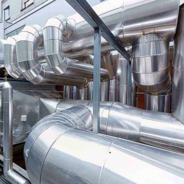 система промышленной вентиляции